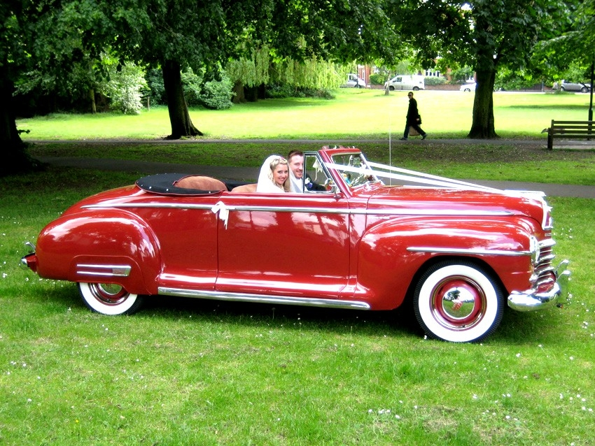 1947 plymouth convertible vintage 50s american wedding cars for Classic american convertibles