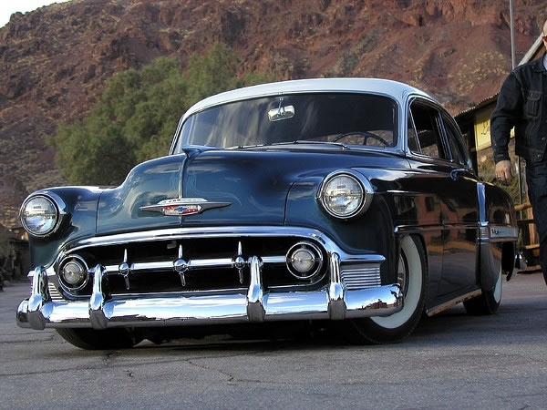 1953 Chevrolet Belair Club Coupe Vintage 50s American Wedding Cars